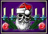 gruselige Illustration zu Weihnachten